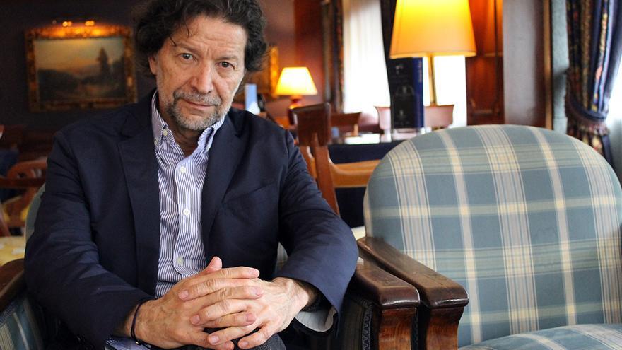 Jorge Zepeda Patterson, ganador del Premio Planeta 2014. / Juan Miguel Baquero