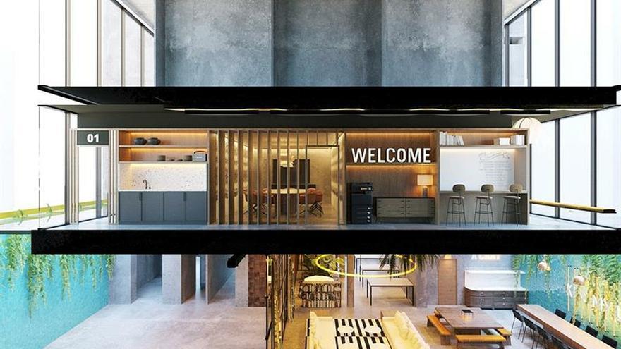 """El """"coworking"""" gana espacio y aspira a representar el 30 % de las oficinas en 2030"""