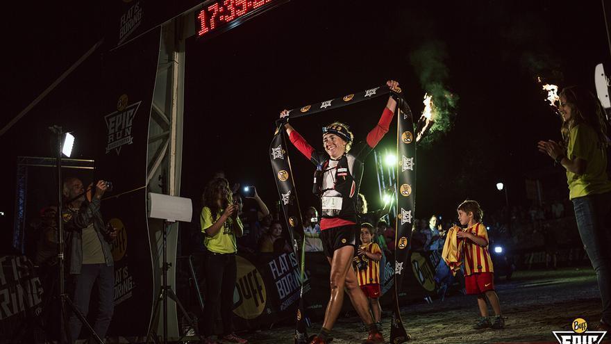 Nuria Picas gana la BUFF® Epic Run 2015 (© Jordi Saragossa).