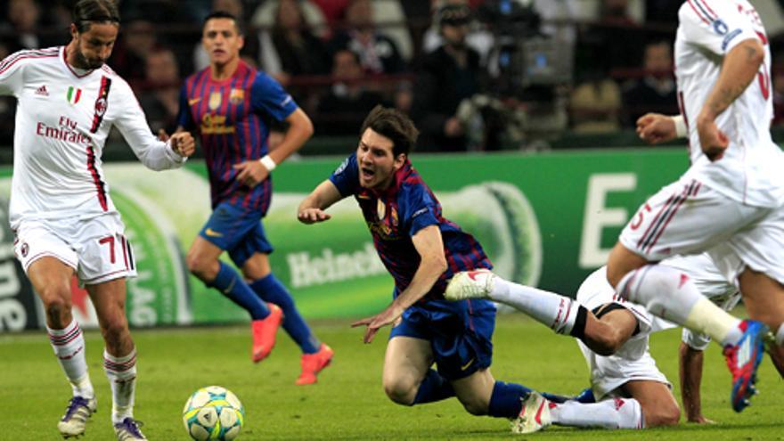 El Milan-Barça reúne casi 7 millones y el 40%, lo más visto de la temporada en la Forta