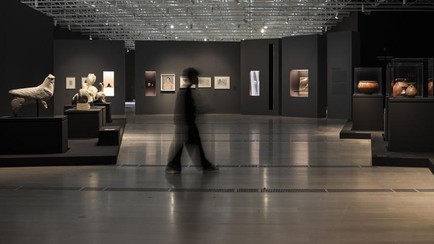 Exposición Picasso íbero, en el Centro Botín de Santander