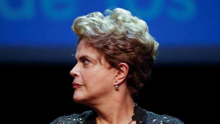 """Dilma Rousseff: """"Hay que hacer que (Michel Temer) salga antes de enero"""""""
