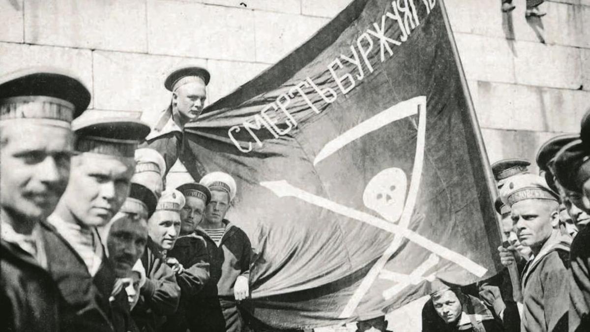La rebelión de Kronstadt se inició en marzo de 1921