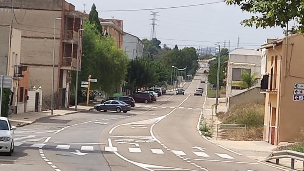 Avinguda Castellà de l'Alcúdia de Crespins.