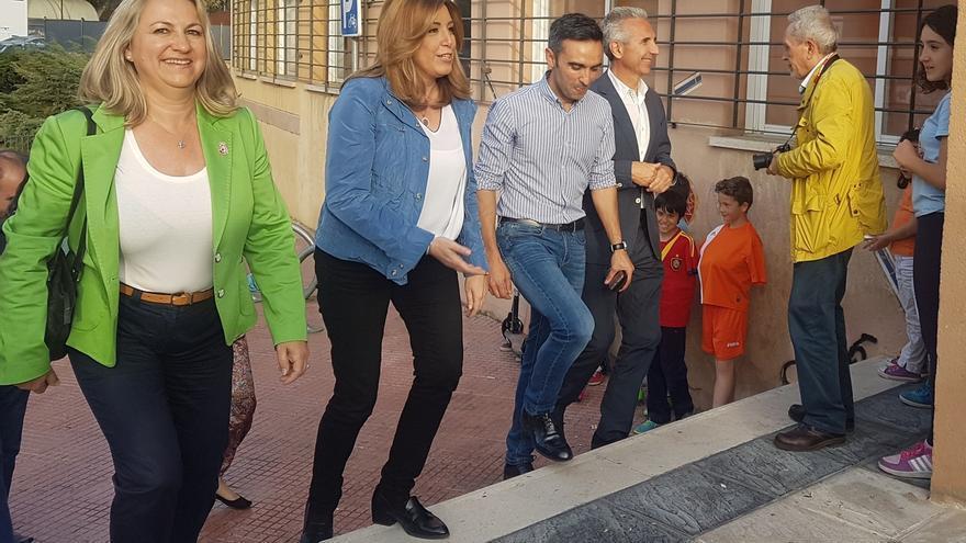"""Susana Díaz responde a Pedro Sánchez: """"La única vez que fui candidata gané y bien"""""""