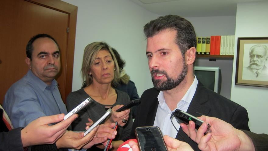 """Tudanca cree que el acuerdo de PNV y PSE es """"positivo"""" para los intereses del País Vasco y de España"""