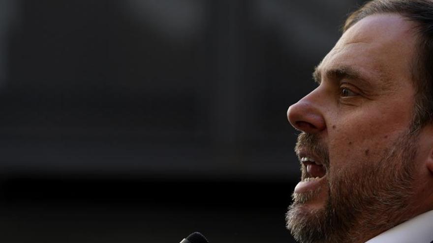 Junqueras pide cerrar filas con Puigdemont en pro de la independencia