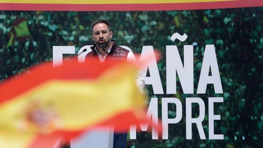 """Santiago Abascal arremete contra Pedro Sánchez por """"no creer en España"""""""