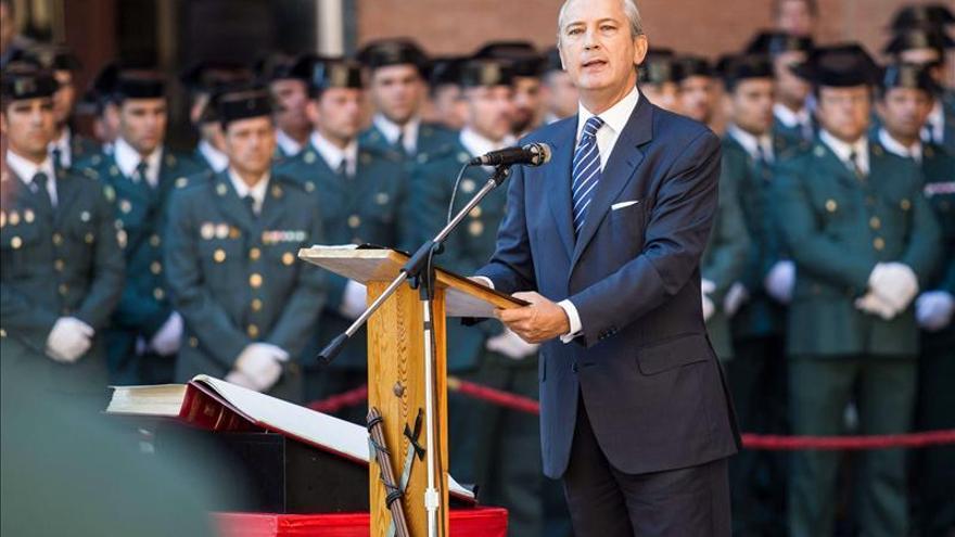 El director general de la Guardia Civil, Arsenio Fernández de Mesa