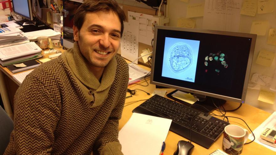 Sergi Aranda Aragón, doctor en Bioquímica por la Universidad de Barcelona.