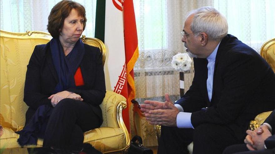 Ashton y el ministro iraní de Exteriores tuvieron una reunión con contenido, antes de la negociación