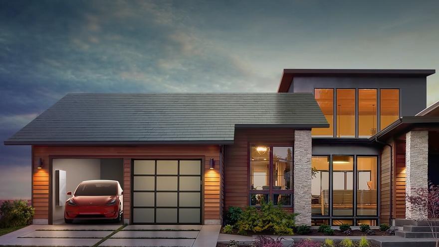El tejado solar de Tesla.