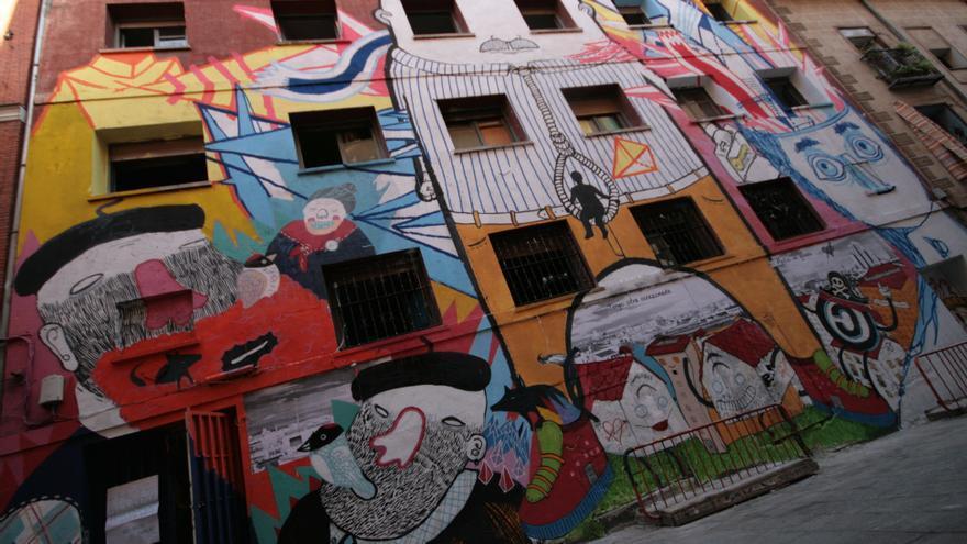La sede del Patio Maravillas en la Calle Acuerdo de Madrid