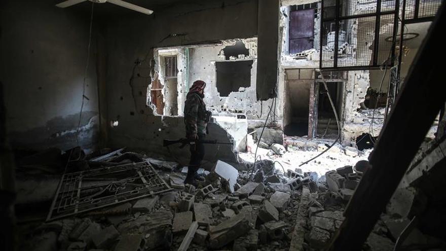 El ejercito sirio arrebata diez pueblos al EI en la provincia central de Homs