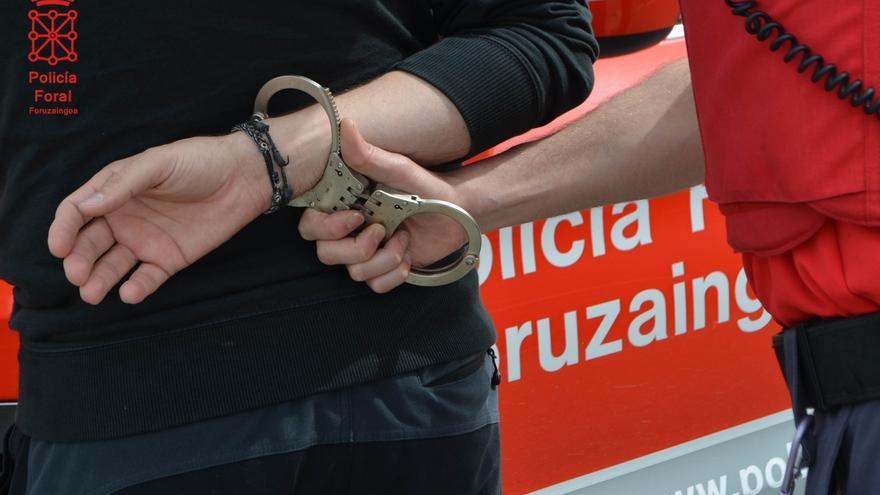 La Policía Foral detiene a cinco personas en los últimos días por violencia de género