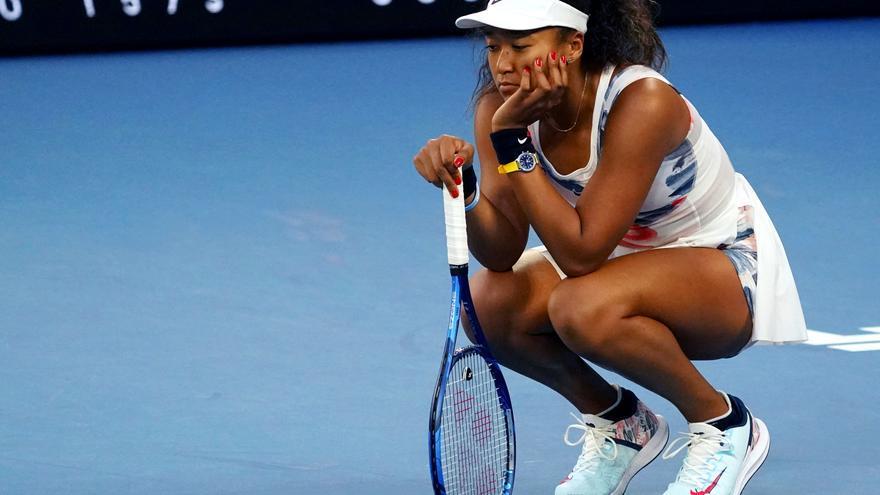 La tenista Naomi Osaka en una competición el pasado mes de enero