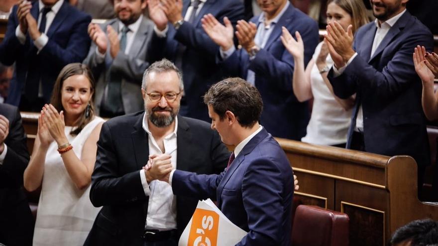 """C's dice que """"nunca en la vida"""" se abstendría para favorecer un Gobierno de PSOE y Podemos"""