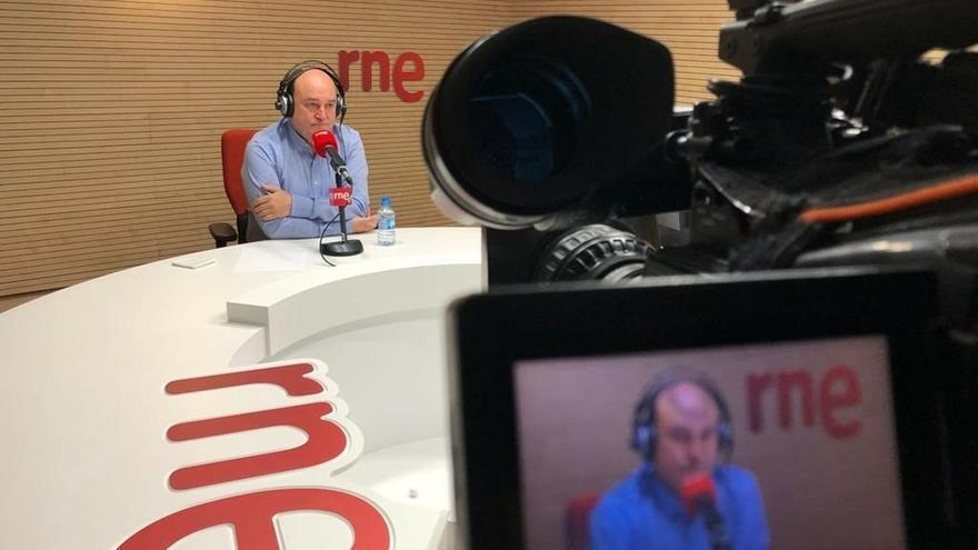 Ortuzar(PNV) espera que los soberanistas catalanes reconsideren su postura de rechazo a Iceta como presidente del Senado