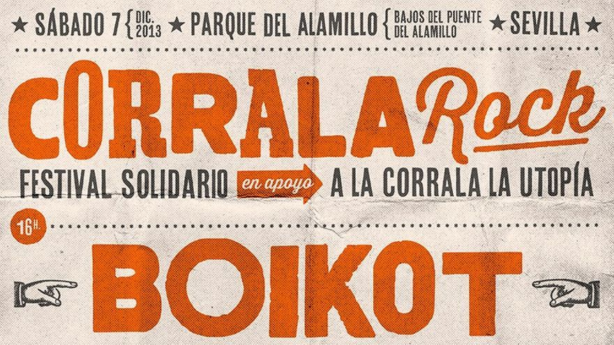 El festival Corrala Rock pretende que las familias de la Corrala Utopía no sean desalojadas.
