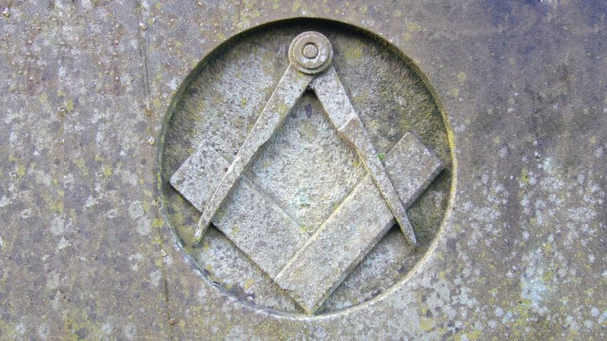 La escuadra y el compás, el símbolo de la masonería