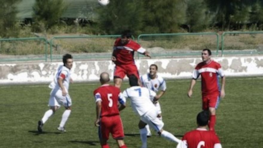 Imagen del duelo que disputaron San Pedro Mártir y San Andrés y Sauces. (ACFI PRESS)