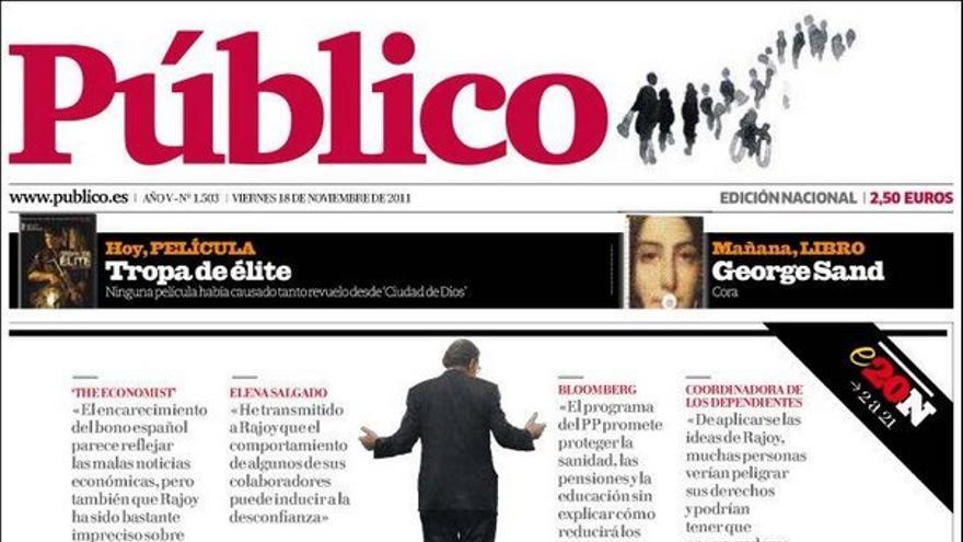 De las portadas del día (18/11/2011) #9