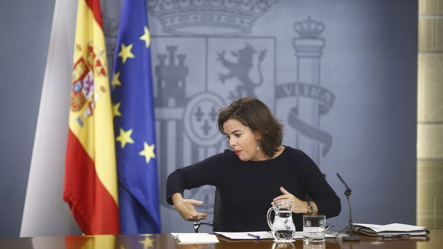 Santamaría se ampara en la separación de poderes para no opinar sobre la continuidad de Barberá en el Senado