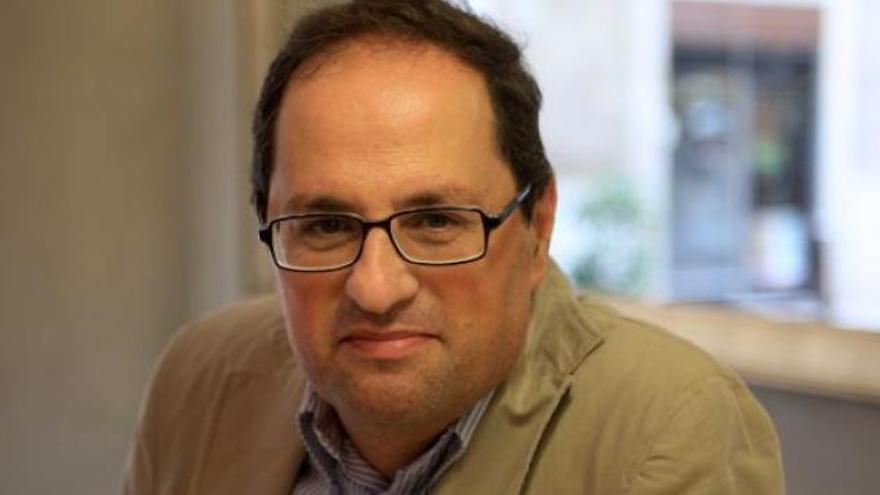 Quim Torra, un exlíder de Òmnium cercano a Puigdemont para presidir el Govern