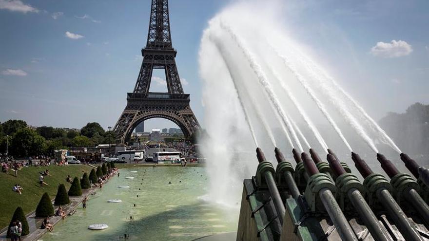 Comienzan las obras para la protección anti-atentados en la torre Eiffel