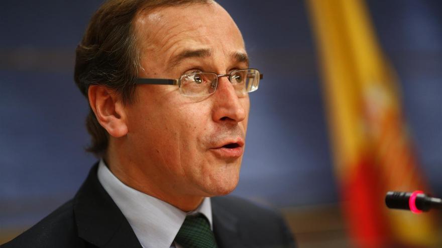 """Alfonso Alonso reniega del vínculo laboral del PP con Bárcenas: """"Visto el resultado, mejor no haberlo tenido"""""""