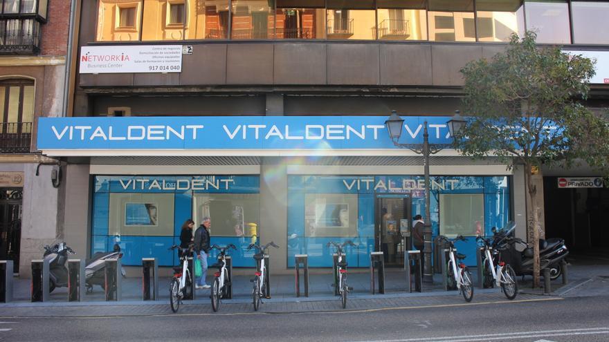 Clínica de Vitaldent ubicada en la calle San Bernardo de la capital