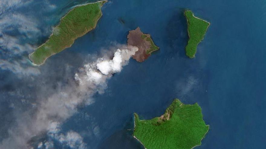 Indonesia alerta frente a la posibilidad de que se repita el tsunami de Sonda