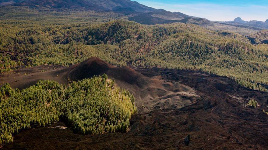 Volcán Chinyero, en Tenerife