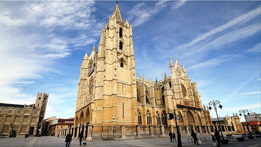 La catedral gótica de León es uno de sus principales atractivos / Foto: José Luiz