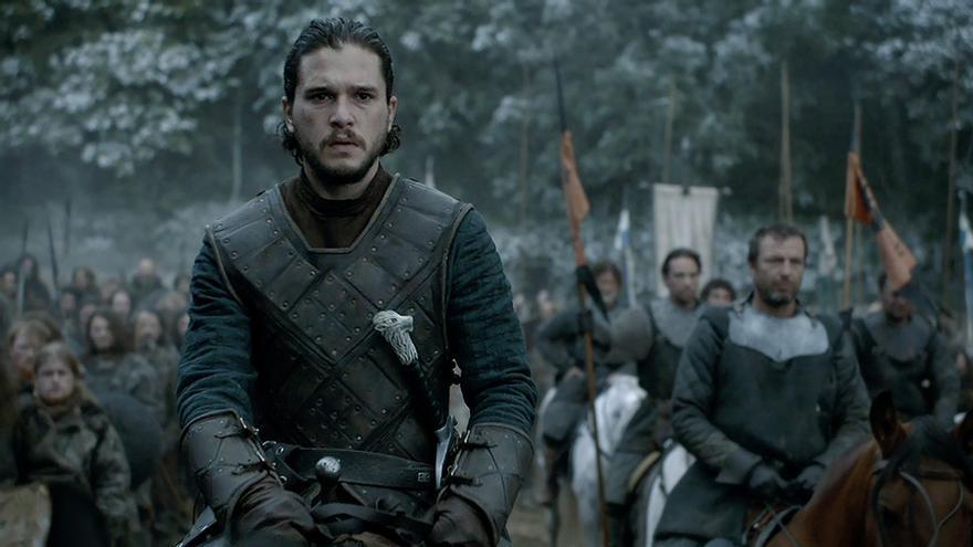 Jon Snow no iba bien preparado a la batalla de los bastardos