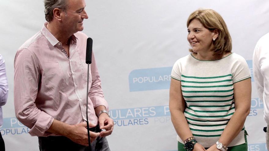 """Bonig, """"orgullosa"""" de asumir la presidencia del PPCV, dice que su reto es """"recuperar la confianza de los valencianos"""""""