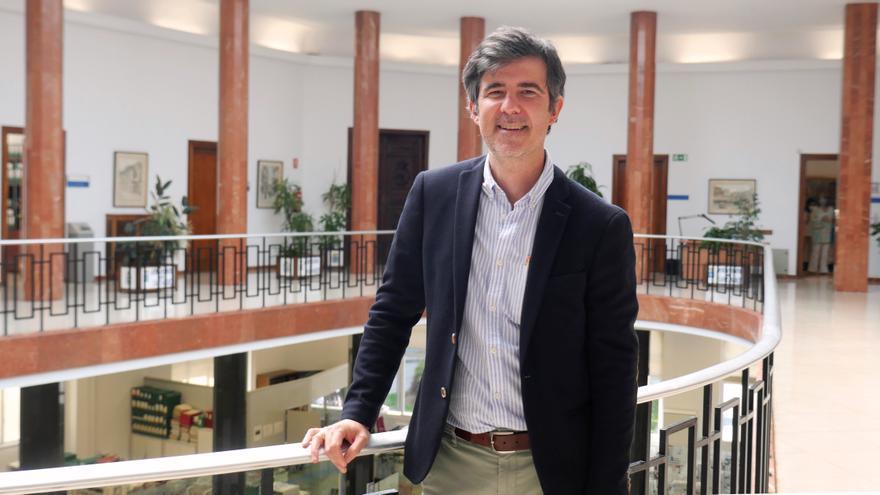 El concejal de Urbanismo del Grupo Socialista, Javier González de Riancho