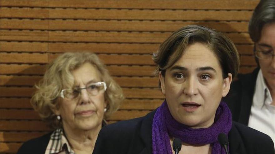 Ada Colau cerrará la lista de En Comú Podem por Barcelona el 20D