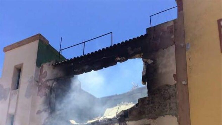 Explosión en Aguimes