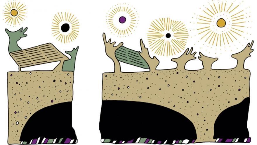 Ilustración: PEDRO STRUKELJ.
