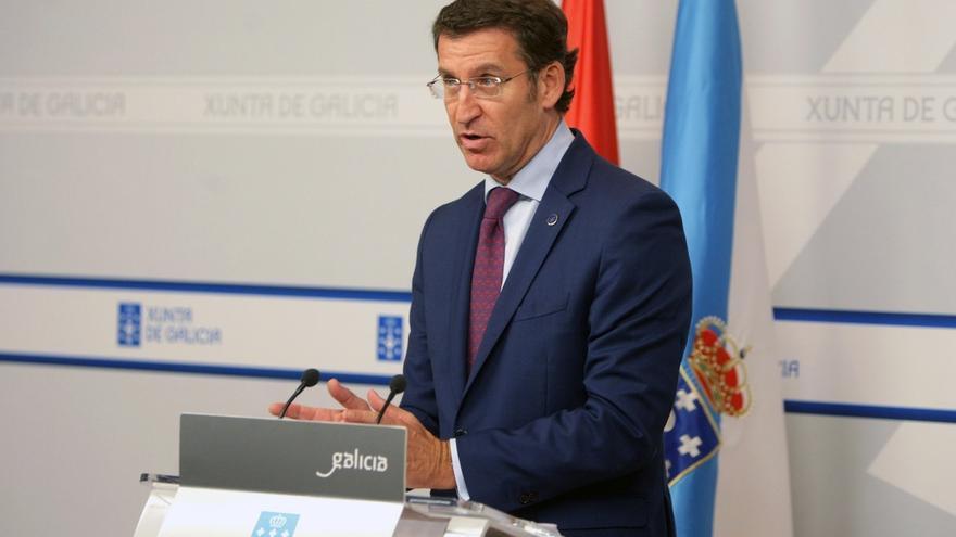 Feijóo niega que haya decisión sobre imputados por corrupción en las listas, aunque Floriano dijo que no irían