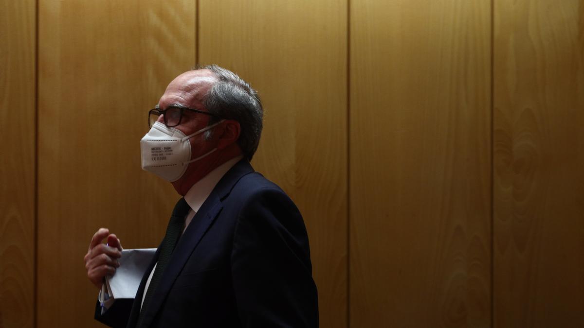 El candidato socialista Ángel Gabilondo