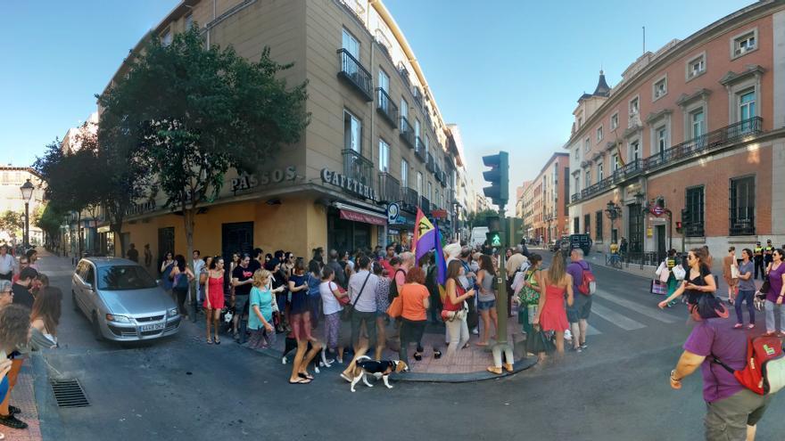 El caso archivado de la violación en Málaga ha sido uno de los detonantes de la concentración