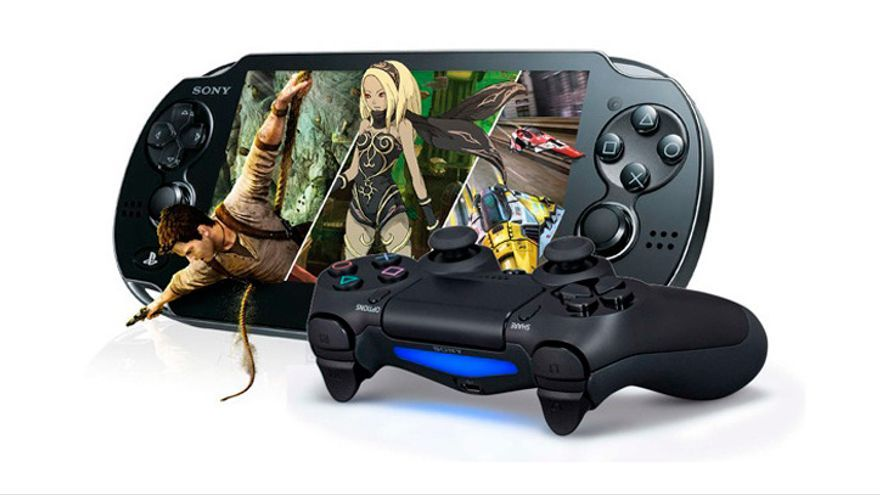 consolas playstation 4 y playstation vita