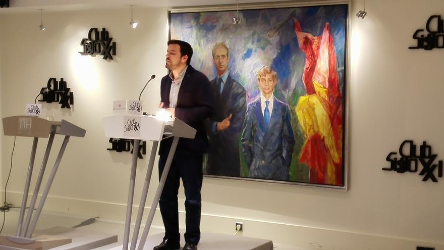 Alberto Garzón avisa del peligro de un crecimiento del fascismo en España si ganan PP, PSOE, Ciudadanos o Podemos