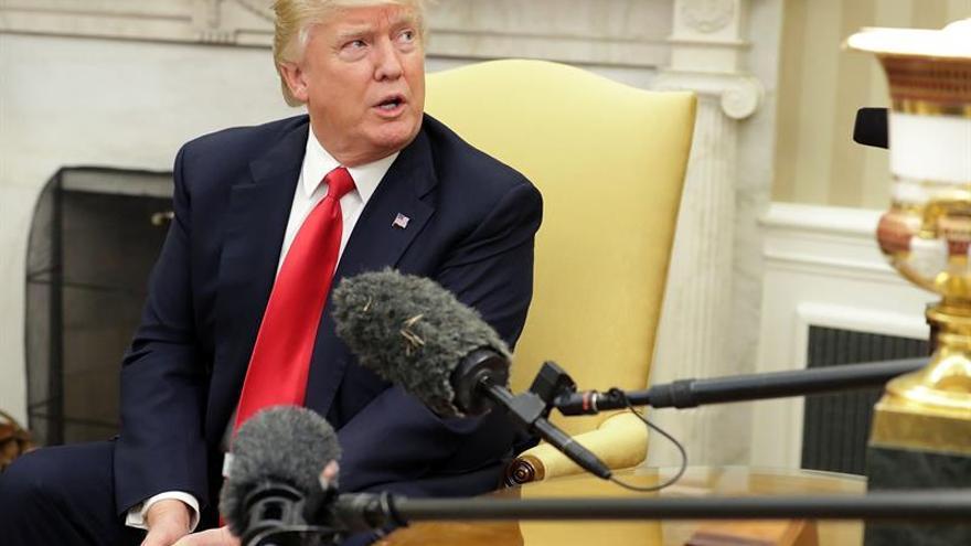 Trump dice estar dispuesto a arreglar el problema de Corea del Norte sin China