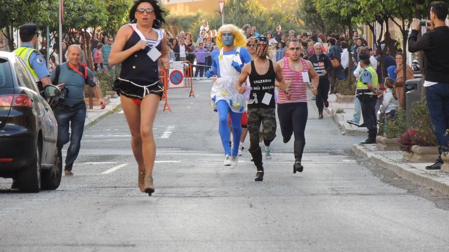 Carrera de tacones del Carnaval de Telde