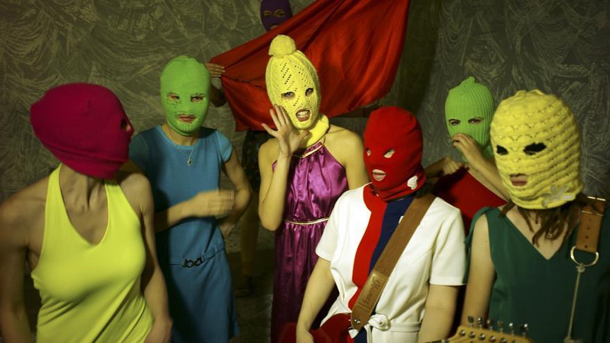 El grupo de música punk feminista, Pussy Riot © Игорь Мухин