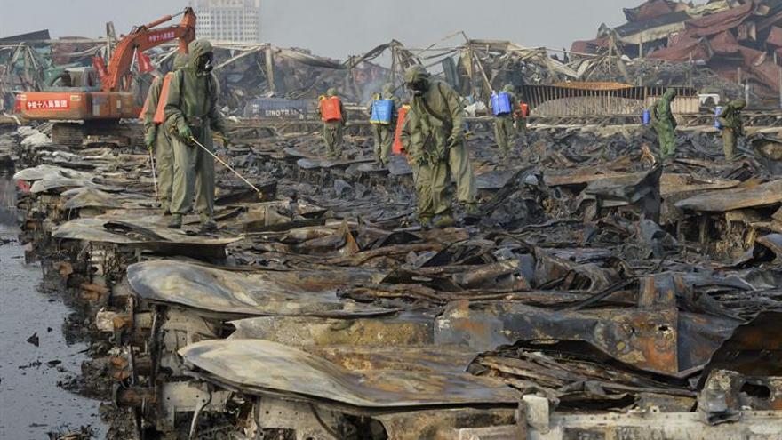 Cinco muertos tras la explosión en una refinería de petróleo al este de China