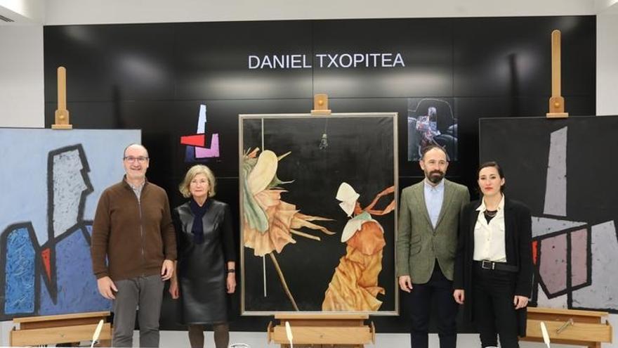 Gordailua acoge en régimen de Comodato 20 obras pictóricas de Daniel Txopitea
